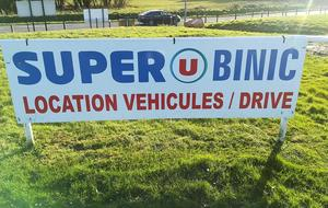 Super U Binic location